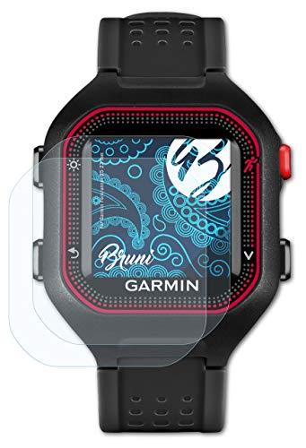 Bruni Schutzfolie kompatibel mit Garmin Forerunner 25 23 mm Folie, glasklare Bildschirmschutzfolie (2X)
