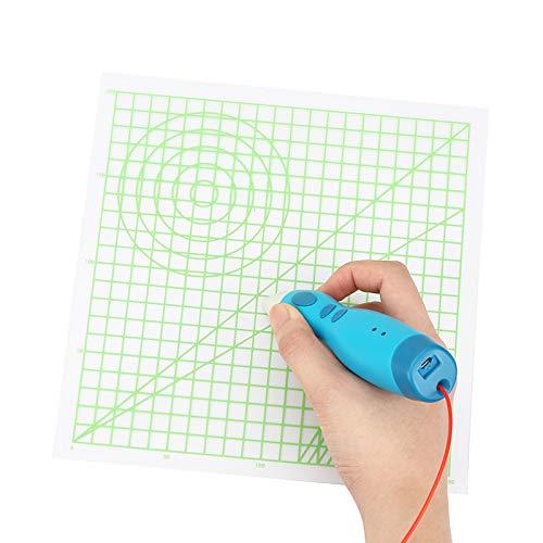 ILS - 220 * 220 * 0,5 mm basis grafisch gekopieerd panel-design mat tekening gereedschap voor 3D-print-veerdeel