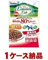 【1ケース納品】 ヤマヒサ ペティオ リモナイトラボ 室内犬用 1~6歳成犬用 500g ×12個入