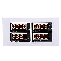 ロマンチックなプレゼントleistungsmesser, AC 80-260V/100A 電圧電力エネルギーテスター CT USBアダプター付き 電気監視マルチメータ