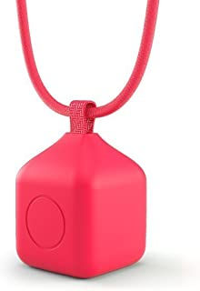 Polaroid Bumper Pendent Case (Red) for the Polaroid CUBE, CUBE+ HD Action Lifestyle Camera - Includes 90cm Lanyard & Metal Hook [並行輸入品]