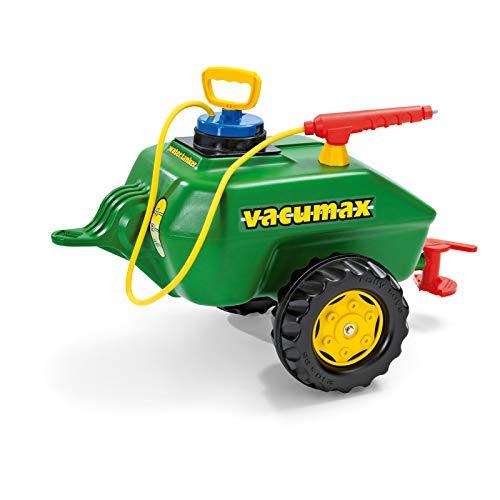 Rolly Toys 122868 - rollyVacumax (für Kinder von 3 bis 10 Jahren, Fassanhänger, Pumpe mit Spritze, Befüllung max. 15 Liter)