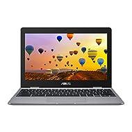 ASUS Chromebook C223NA (Grey) (Intel Celeron N3350, 4 GB RAM, 32 GB eMMC, 11.6 Inch HD Screen, Chrom...