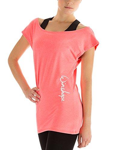 WINSHAPE Damen Dance-Shirt Wtr12 Freizeit Fitness Workout T-Shirt