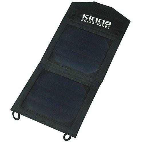 Kinna 5W pannello solare Accessori con 1porta USB per smartphone, dispositivi digitali e potenza mobile