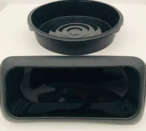 WellBake Brot- und Kuchenset Kastenform für Kuchen, 1,9 kg Antihaft-Silikon-Backform 10 Jahre Garantie