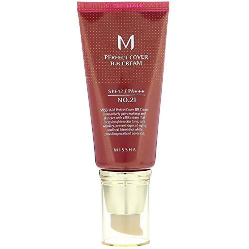 Missha M Perfect Cover B.B Cream Pflege 21 Light Beige 50 ml