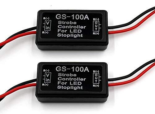 """""""FXC 2x 24W Flash Strobe Controller Flasher Module for LED Brake Light Tail Stop Light 12-30V"""""""