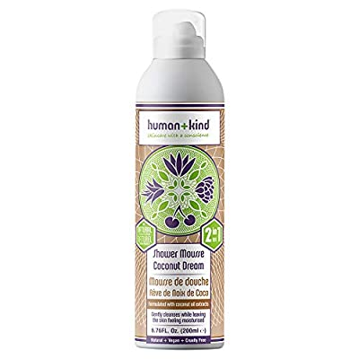 Human+Kind Shower Mousse Wash