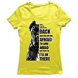 lepni.me Camiseta Mujer Estaré ahí para ti Motivación Cane Corso Regalo para Amantes de los Perros (L Amarillo Multicolor)