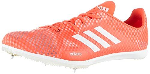 adidas Damen Adizero Ambition 4 Leichtathletikschuhe, Rot (Solar Red/FTWR White/core Black), 43 1/3 EU