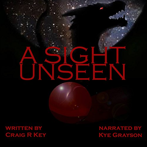 A Sight Unseen audiobook cover art