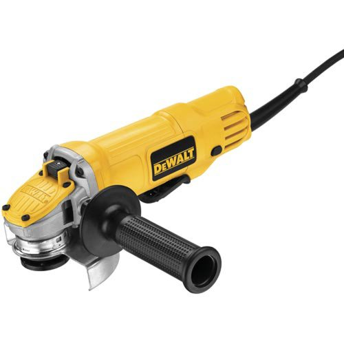 DEWALT Angle Grinder Tool, 4-1/2-Inch, Paddle Switch (DWE4120),Yellow,Small