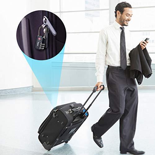 TSA Luggage Locks, Diyife 3-Digit Security Combination Padlocks