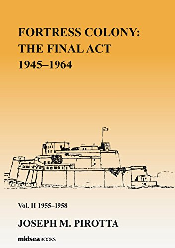 Fortress Colony: The Final Act 1945-1964 - Vol 2 1945-58: Volume 2