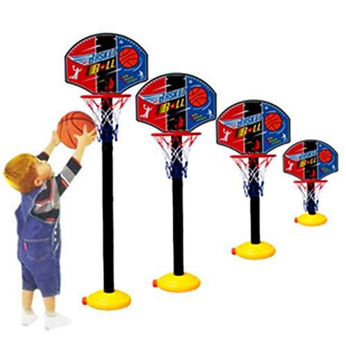 Ruyu 85cm Mini Desk Startseite Basketball-Fan Game Set Tragbarer Korb Basketball Spielzeug for Basketball-Fans Aller Altersgruppen