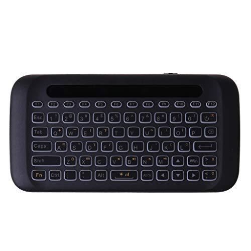 RK-HYTQWR H20 Doppelseitige drahtlose Touch-Tastatur Vollbild-Touchpad-Luftmaus-Tastatur, Mini-drahtlose Touch-Tastatur