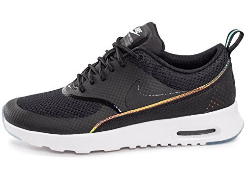 Nike Womens air max THEA PRM Running Trainers 616723 Sneakers Shoes (US 6, Black Blue Tint 014)