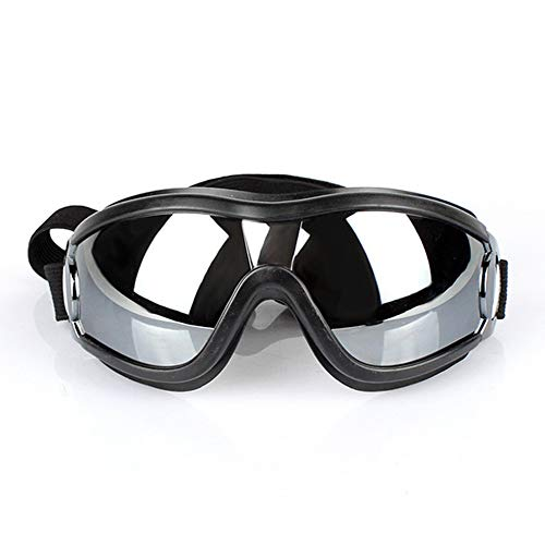 Pet Dog Goggles Stijlvolle Doggie Puppy Zonnebril Winddichte Bescherming Doggles Waterdichte Huisdier Spiegel Lenzen voor Kleine En Medium Honden Zwart