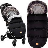 Winterfußsack Manaslu extra warm mit Coral Fleece für Kinderwagen Buggy Jogger/Fußsack
