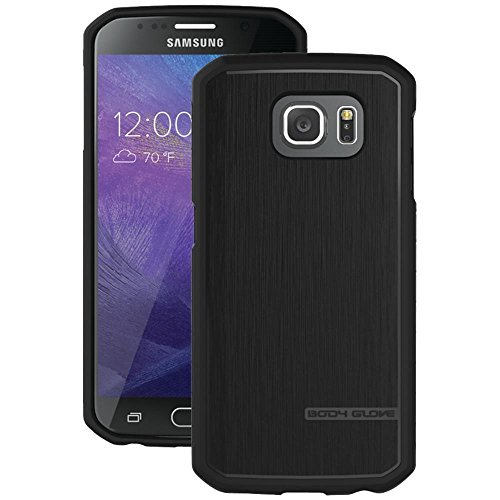 BODY GLOVE Cell Phone Case for Fits Samsung Galaxy S6 - Retail Packaging - Black