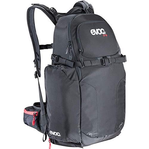 EVOC CP 18l Fotorucksack Rucksack für Kamera und Ausrüstung (Gepolstert, seitlicher Schnellzugriff, ergonomisches Tragesystem, Gurtsystem für Stativ, Stöcke oder Eisaxt), Schwarz ,52 cm