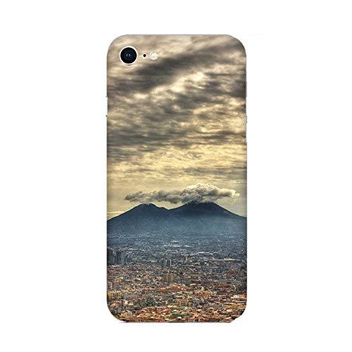 Generico Cover Custodia Compatibile per Apple iPhone 7 Città Italiane Napoli/Stampa Anche sui Lati/Phone Hard Snap on Anti-Slip AntiGraffio Resistente agli Ammortizzatore Rigido
