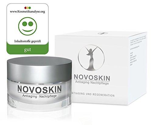 Antiaging Nachtpflege mit Hyaluronsäure für trockene Haut, Antiaging und Anti Falten Nachtpflege...