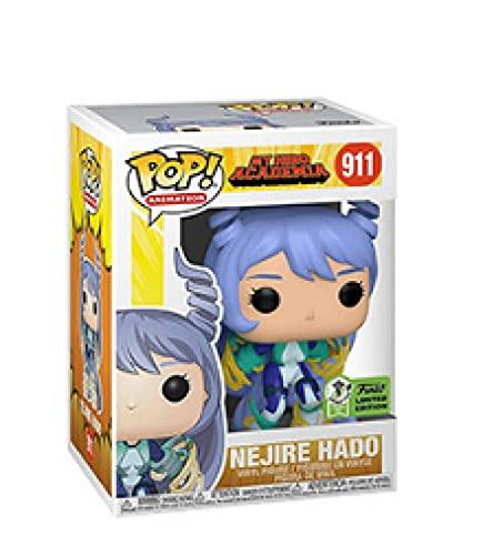 Pop Anime Figure My Hero Academia Nejire Hado # 911 Action Figure Bambole Modello Giocattoli Regali Per Bambini Collezioni