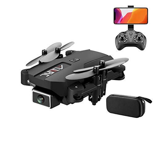 Mini drone plegable con la cámara 4K UHD de adultos, vuelve automáticamente a casa, sígueme, tiempo de vuelo 26 minutos, rango de control largo, RTF One-Key Despegue / aterrizaje, compatible con VR Bl