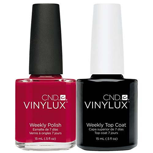 CND Vinylux Creative Top Coat, Wildfire - 15 ml