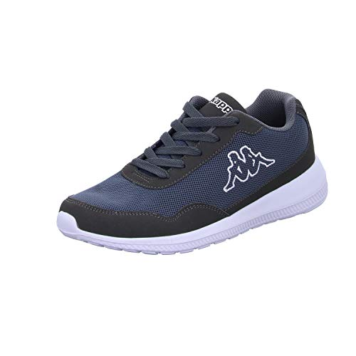 Kappa Follow, Sneaker Unisex – Adulto, Grau (1310 Anthra/White), 43 EU