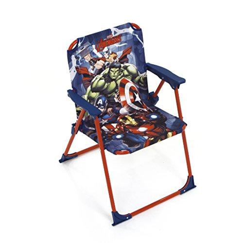 Avengers AV11919 Chaise Pliante pour Enfant sous Licence métal et Tissu Dimensions: 38x32x53cm, 38 x 32 x 53 cm