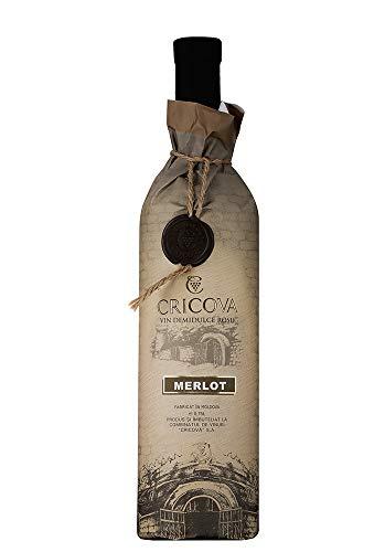Cricova   Coline Merlot – Rotwein lieblich aus Moldawien 0.75 L