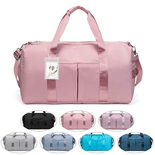 FEDUAN das Original, Sporttasche Reisetasche modisch wasserdicht mit Schuhfach Nassfach für Damen und Herren Yoga Pilates Strand Freizeit...