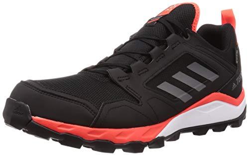 adidas Terrex Agravic TR GTX, Zapatillas Deportivas Hombre, Core Black/Grey Four F17/SOLAR Red, 41 1/3 EU
