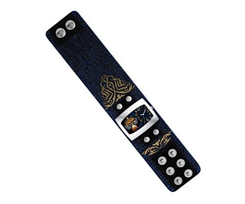 Disney 24569 - Reloj analógico unisex automático con correa textil azul