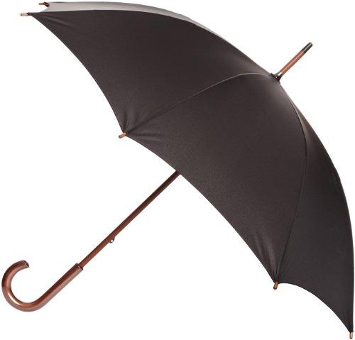 Fulton Unisex Kensington Umbrella, Black, One Size