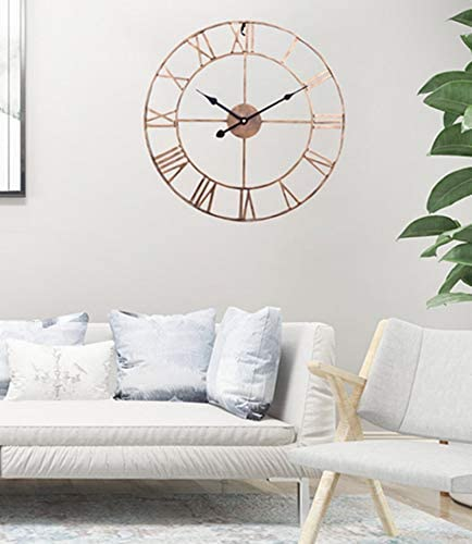 ohcoolstule Large Home Ranking TOP3 Decor Wall Clock Tick Room Living Max 47% OFF for Non