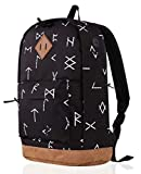 936Plus College Backpack for Men & Teen Boys: Water Resistant School Bookbag with 12 Pockets, Ethnic