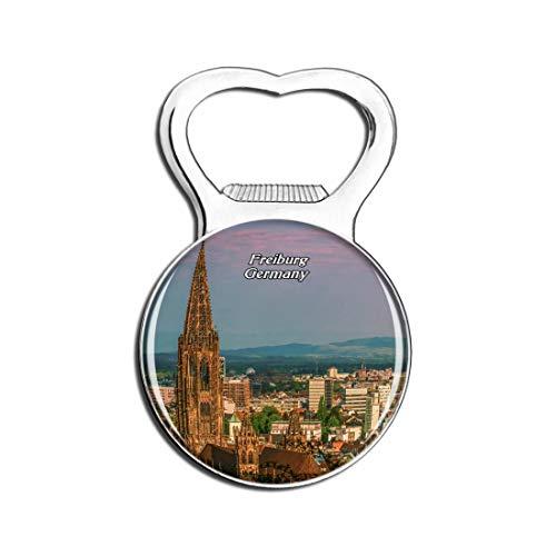 Weekino Freiburger Skyline Deutschland Bier Flaschenöffner Kühlschrank Magnet Metall Souvenir Reise Gift