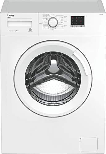 BEKO WTE 7611 BW - Lavadora A+++, 2200 W, Blanco, 84 x 60 x 49 cm