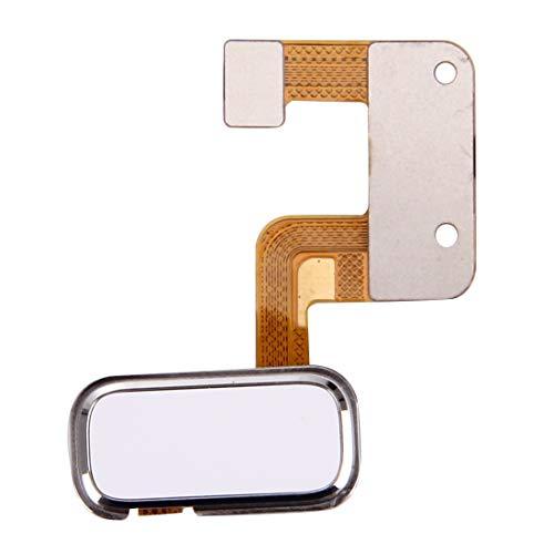 Liluyao Partes móviles Botón de Huella Dactilar Lenovo ZUK Z2 (Color : Blanco)