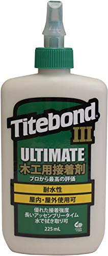 Titebond 1413 III Ultimate Wood Glue, 8-Ounces