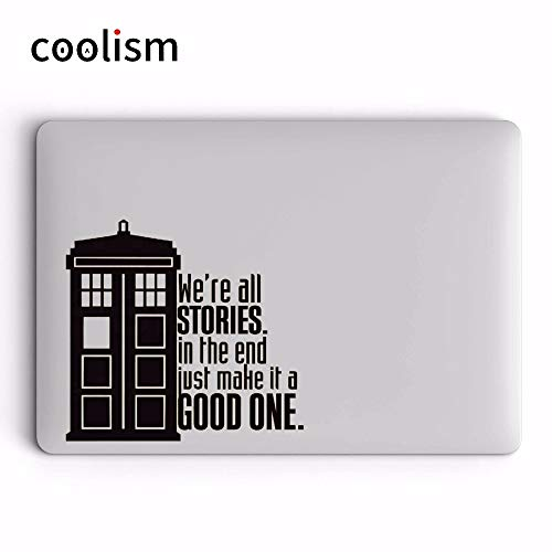 GADGETS WRAP Doctor Who Tardis Vinyl Laptop Sticker for Apple MacBook Decal Pro Air Retina 11 12 13 14 15 Inch Hp Mac Surface Book Skin Decal