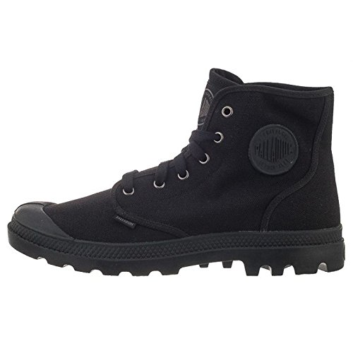 Palladium PAMPA Hi US Canvas, Herren Sneakers, Schwarz, Gr. 42