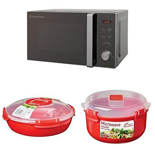 Russell Hobbs RHM2076B 20L Black Digital Microwave
