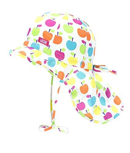 Döll Baby-Mädchen Nackenschutz Sonnenhut, Rosa (Beetroot Purple|Pink 2420), 47