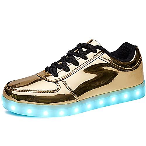 SANYES USB Charging Light Up Shoes Sports LED Shoes...