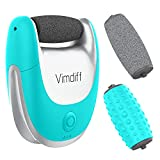 Updated 2019 Version USB Rechargeable Pedi Pedicure Foot Scrubber File Rasp, Electric Foot Care Callus Remover Kit Tools Products for Feet, Hard and Dead Skin